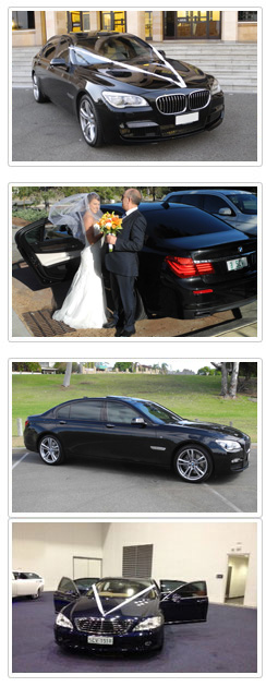 Private Chauffeured 7 Series BMW